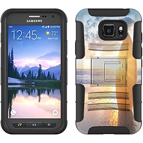 Samsung Galaxy S7 Active Armor Hybrid Case SurfBoard Sunset 2 Piece Case with Holster for Samsung Galaxy S7 Active Sales