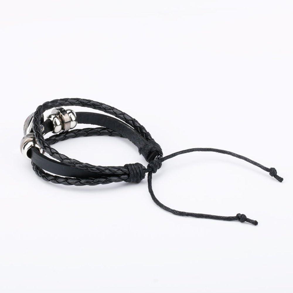 Caimeytie Bracelet R/églable Pendante Arbre de la Vie Verre Produit