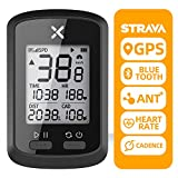 XOSS Bike GPS Computer G+ Wireless Speedometer Odometer Cycling Tracker Waterproof Road Bike MTB Bicycle Bluetooth ANT+ with Cadence Cycling Computers