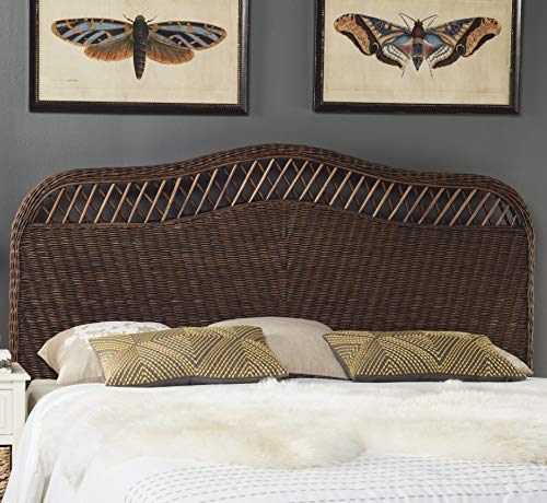 Safavieh Home Collection Sephina Brown Rattan Headboard (Queen) (Style Rattan)