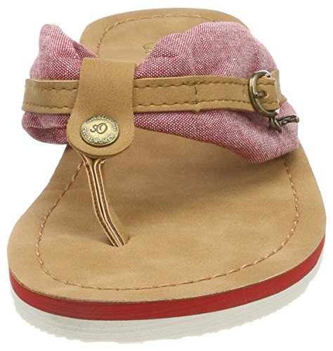 Oliver para Chanclas Mujer Red s 27112 Rojo T0qHRRx