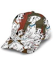 N - A Cartoon 101 D-almatians baseballpet zonwering mode polyester verstelbare hoeden unisex trucker hoed hiphop cap zwart
