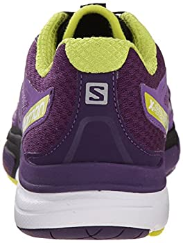 Salomon Women's X-scream 3d W Trail Running Shoe, Rain Purplecosmic Purplegecko Green, 9 B Us 1