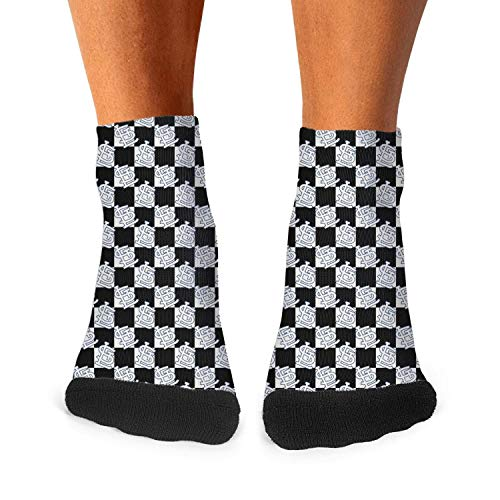 Boy's Crew Socks Elastic Printed Training Mid Socks