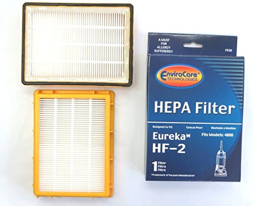 - EUREKA Vacuum Smart Vac HEPA 61111 (HF-2 Filter) 2 pack