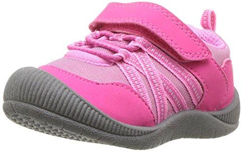 OshKosh B'Gosh Girls' Nova Sneaker, Fuchsia, 9 M US Toddler