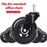 Office chair wheels set of 5 chair caster Wonder Wheels universal fit