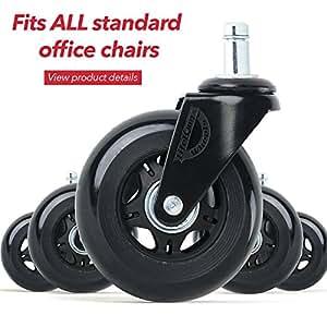 Ruedas de goma para sillas de oficina caucho silla for Ruedas de goma para sillas