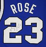 Derrick Rose Memphis Tigers Signed Autographed Blue #23 Jersey