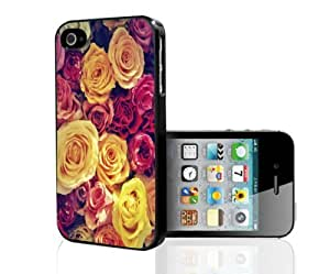 Colorful Assorment of Roses Hard Snap on Phone Case (iPhone 4/4s)
