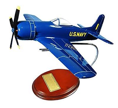 Mastercraft Collection Grumman F8F Bearcat F-8F Blue Angels Plane Airplane Fighter Aircraft World War II USN Navy USMC Marine Corps Model Scale:1/35