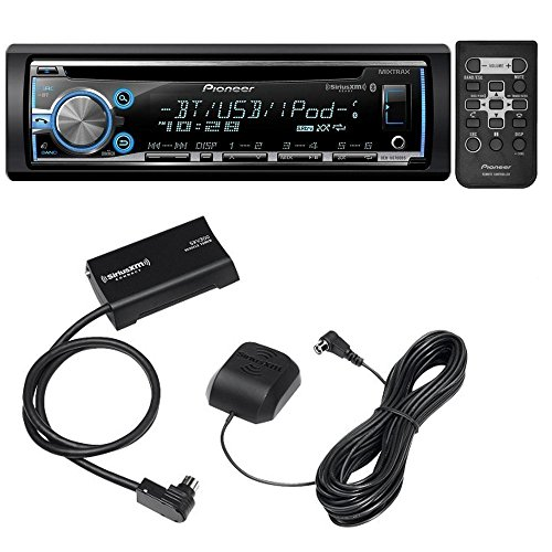- Pioneer DEH X6700BS Car CD Receiver and SiriusXM SXV300V1 Tuner