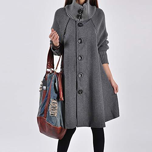 Gilet Shirt Occasioinnel Taille Oayard Gris Blouse Loose Coat Grande Pull Long Mode Femme Cardigan Capuche Blouson Elegant Coton A Avec Sweatshirt Manteau qwATxB6qZ