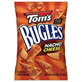 toms corn chips - Tom's Bugles, Nacho Cheese, 0.75 Ounce (Pack of 56)