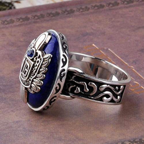 Fashion Vintage Vampire Diaries Rings Anillos Salvatore Damon