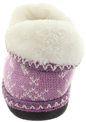 MIK Funshopping - Pantuflas Mujer Lilac Multi