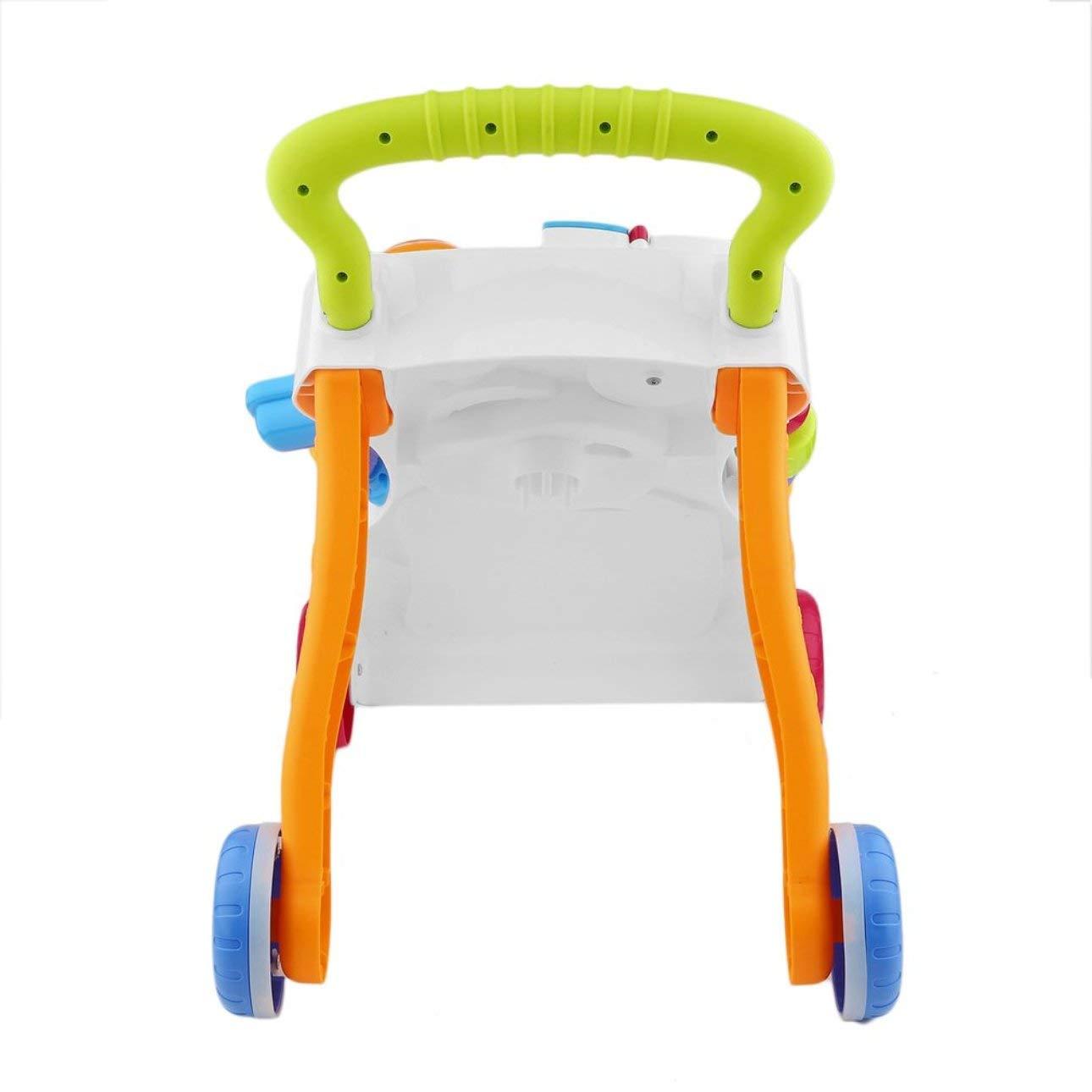 Pudincoco Andador para bebés Multifuncional Baby Walker ...