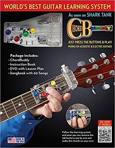 Chordbuddy Learning System Edition Includes Color Coded Songbook