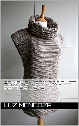 Crochet Pattern Vest - Poncho vest crochet pattern 245