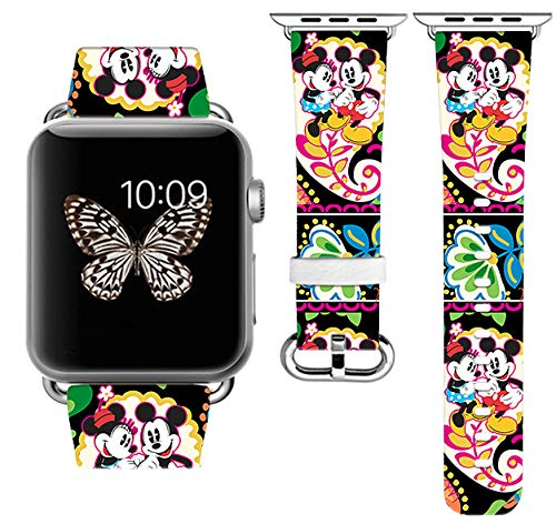 Replacement Band Compatible with Apple Watch with adapters 42mm or 38mm iWatch Band Series 1 Series 2 Series 3 Length S/M or M/L (42mm M/L)
