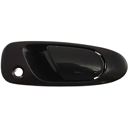 495fcb0494c41 Exterior Door Handle for Honda Civic 92-95 / DEL SOL 93-97 Front RH Outer  Smooth Black Paint to Match Plastic