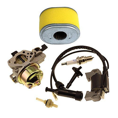 HIPA Carburetor with Ignition Coil Spark Plug Air Filter Tank Joint Filter for HONDA GX240 GX270 Engine Lawn Mower Parts (Rototiller Tires compare prices)