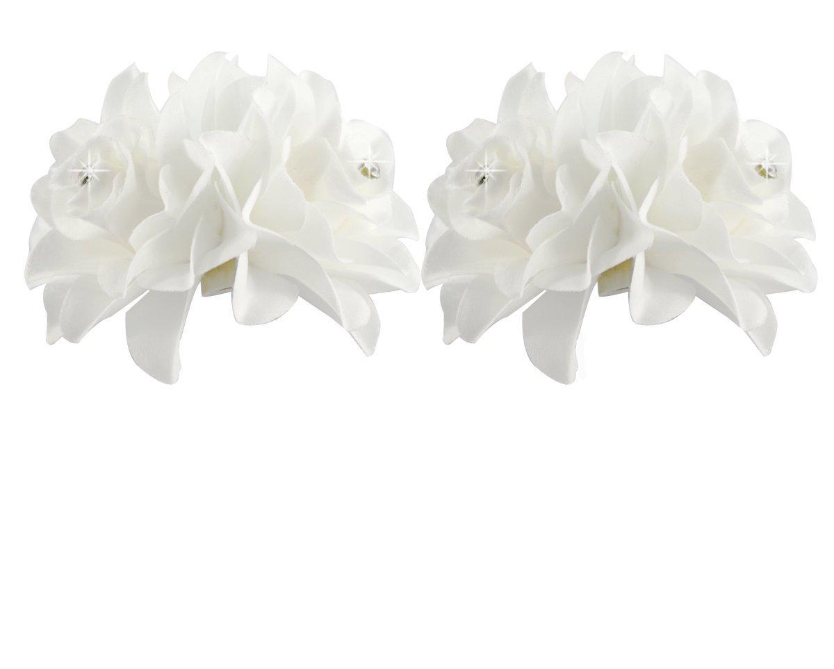 Amazon Zijing 10 Pcs 118 Ivory White Fashion Hair Small
