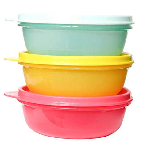 Amazon.com: Tupperware S.S. - Juego de 3 recipientes ...