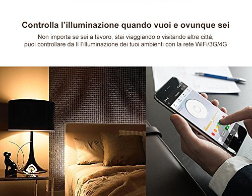 Kingled mi light modulo wifi ghz ibox per gestire da