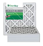 AFB Silver MERV 8 14x14x1 Pleated AC Furnace Air Filter. Pack of 6 Filters. 100% produced in the USA.