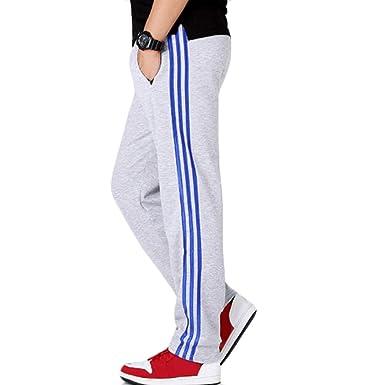 Huicai Pantalones de chándal para Hombre Pantalones de salón para ...