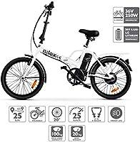 Nilox Doc X1 Plus, Bicicletta Elettrica Pieghevole