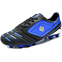 DREAM PAIRS 151028-151030 Men's Sport Flexible Athletic Free Running Light Weight Indoor/Outdoor Lace Up Soccer Shoes