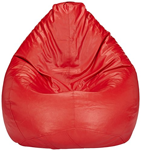Solimo XXL Bean Bag Cover (Red)