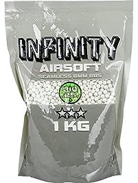 Valken Airsoft BBS - Infinity 0.25G BIO, 4,000 Count, White