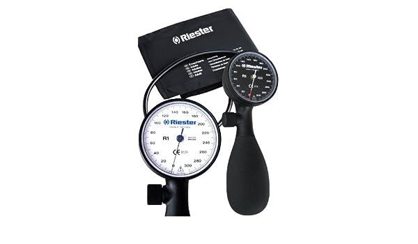 Riester R1 Shock-proof - Tensiómetro aneroide con manguito para adultos (negro) (1250 - 107): Amazon.es: Bricolaje y herramientas