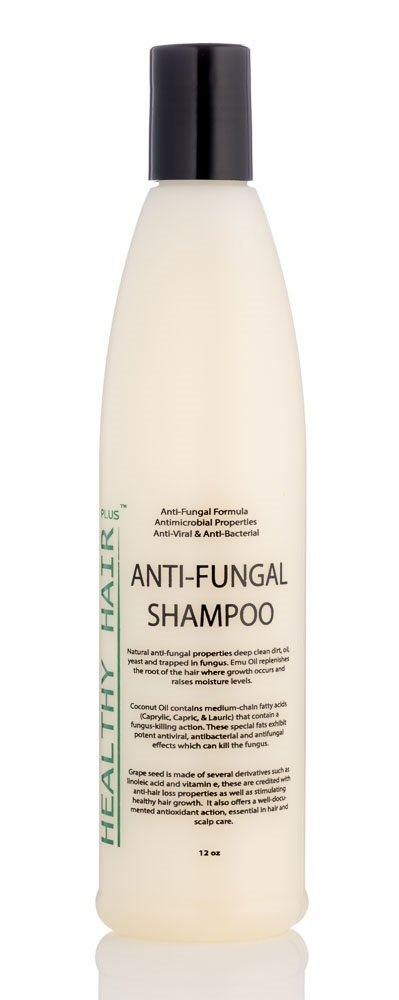 Healthy Hair Plus Anitfungal Shampoo - Antifungal Formula that Reduces Fungus and Bacteria on the Scalp