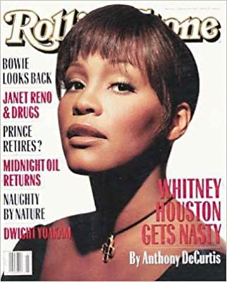 Book Rolling Stone Magazine, Issue 658, June 1993, Whitney Houston Cover
