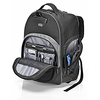 Targus Compact Rolling Backpack For 16-inch Laptops, Black (Tsb750us) 3