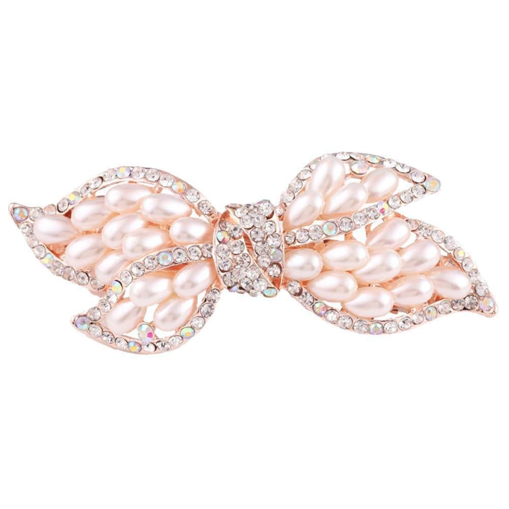 Oldlila 1Pcs Double Bow Hairpin Hairpin Hairpin Hairpin Comb Lady