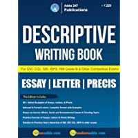 Descriptive Writing Book for SSC and Bank Exams (English Printed Edition)
