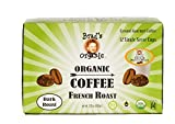 Brad's Organic Coffee Single Serve French Roast, 12 Count (Pack of 6)