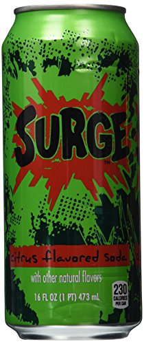 SURGE, 4 ct, 16 FL OZ Cans