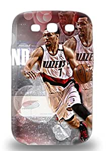 New Snap On Galaxy Skin 3D PC Case Cover Compatible With Galaxy S3 NBA Portland Trail Blazers Brandon Roy #7 ( Custom Picture iPhone 6, iPhone 6 PLUS, iPhone 5, iPhone 5S, iPhone 5C, iPhone 4, iPhone 4S,Galaxy S6,Galaxy S5,Galaxy S4,Galaxy S3,Note 3,iPad Mini-Mini 2,iPad Air )