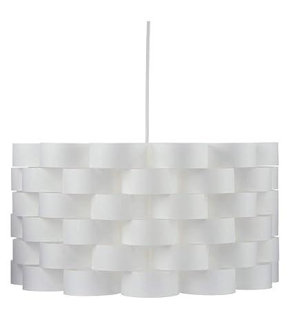 Lámpara de techo de líneas puras y simples - Aspecto fibra de vidrio