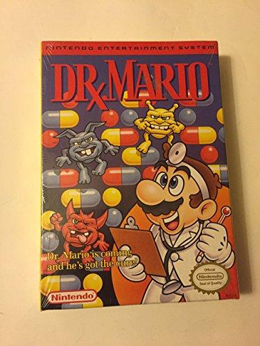 Dr Mario nintendo entertainment system