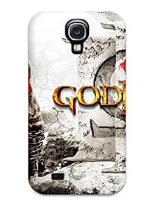 Premium God Of War Iii Back Cover Snap On Case For Galaxy S4