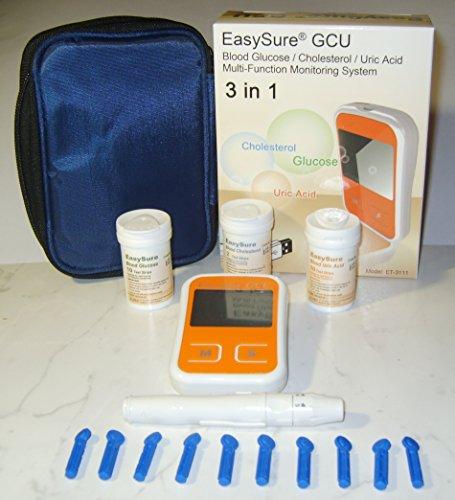 EASYSURE ET-3111 / cholestérol / Système de surveillance Acide urique Multi-Function glycémie