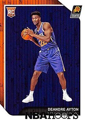 b23af17fa 2018-19 NBA Hoops Basketball  248 Deandre Ayton Phoenix Suns RC Rookie Card  made by Panini