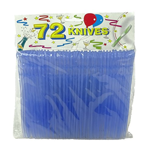 720 Plastic Knives (10 packets of 72) - Wholesale Offer For Caterers, Summer Festivals, Retailers -